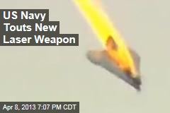 US Navy Touts New Laser Weapon