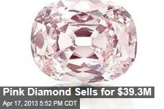 Pink Diamond Sells for $39.3M