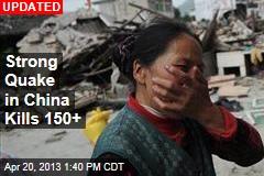 Strong Quake in China Kills 100+
