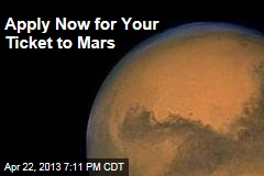 Apply Now For Your Ticket to Mars