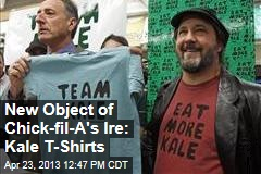 New Object of Chick-fil-A's Ire: Kale T-Shirts