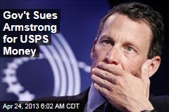 Gov't Sues Armstrong for USPS Money