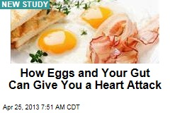 How Eggs and Your Gut Can Give You a Heart Attack