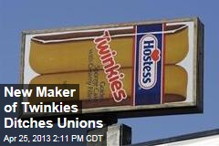 New Maker of Twinkies Ditches Unions
