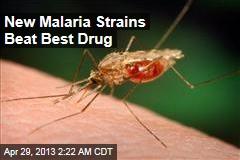 New Malaria Strains Beat Best Drug