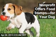 Nonprofit Offers Food Stamps—for Your Dog