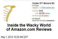 Inside the Wacky World of Amazon.com Reviews