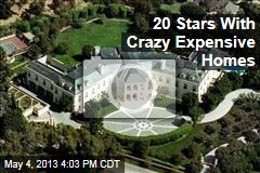 20 Stars With Crazy Expensive Homes
