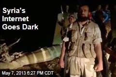 Syria's Internet Goes Dark