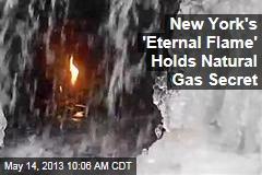 New York's 'Eternal Flame' Holds Natural Gas Secret
