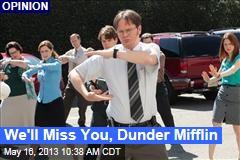 We'll Miss You, Dunder Mifflin