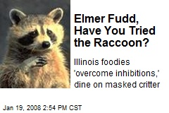 Elmer Fudd, Have You Tried the Raccoon?