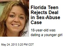 Florida Teen Rejects Deal in Sex-Abuse Case