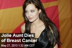 Jolie Aunt Dies of Breast Cancer