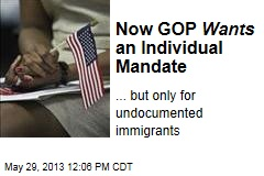 Now GOP Wants an Individual Mandate