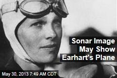 Sonar Image May Show Earhart's Plane