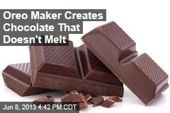 Oreo Maker Creates Chocolate That Doesn't Melt
