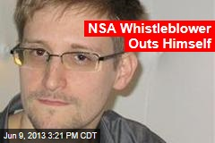NSA Whistleblower Outs Himself