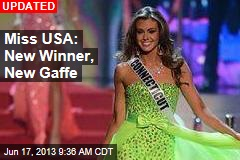Accountant Is New Miss USA