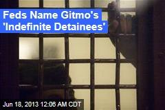 Feds Name Gitmo 'Indefinite Detainees'