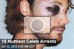 15 Nuttiest Celeb Arrests