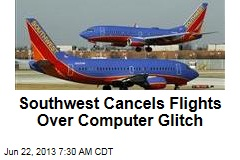 Southwest Cancels Flights Over Computer Glitch