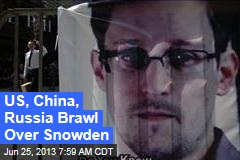 White House Lashes Out Over Snowden Case