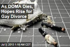 DOMA Death Raises Hopes for Gay Divorce