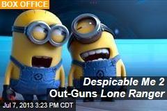 Despicable Me 2 Out-Guns Lone Ranger