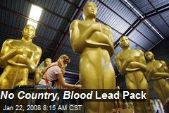 No Country, Blood Lead Pack