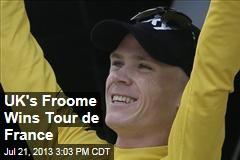 UK's Froome Wins Tour de France