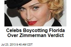 Celebs Boycotting Florida Over Zimmerman Verdict