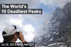 The World's 10 Deadliest Peaks