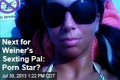 Next for Weiner's Sexting Pal: Porn Star?
