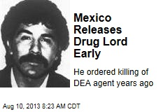 Mexico Releases Drug Lord Early