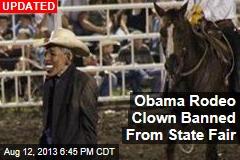 Mo. State Fair: Obama Clown 'Disrespectful'