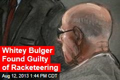 Whitey Bulger Found Guilty of Racketeering