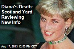 Scotland Yard Looks at New Information in Diana's Death