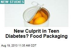 New Culprit in Teen Diabetes? Food Packaging