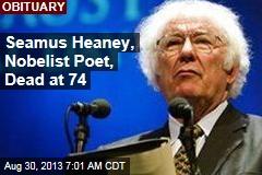 Seamus Heaney, Nobelist Poet, Dead at 74