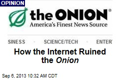 How the Internet Ruined the Onion