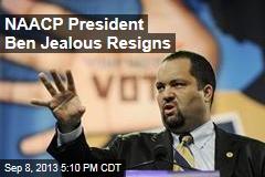 NAACP President Ben Jealous Resigns
