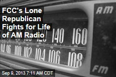 FCC's Lone Republican Fights for Life of AM Radio