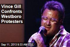 Vince Gill Confronts Westboro Protesters