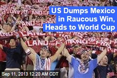 US Clinches World Cup Berth With 4th 2-0 Win Over Mexico