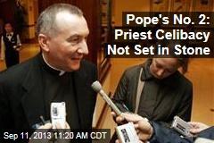 Pope's No. 2: Priest Celibacy Not Set in Stone
