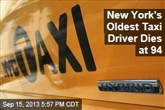 New York's Oldest Taxi Driver Dies at 94