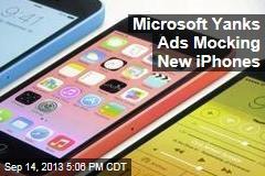 Microsoft Yanks Ads Mocking New iPhones