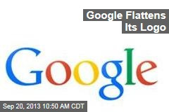 Google Flattens Its Logo