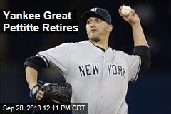 Yankee Great Pettitte Retires